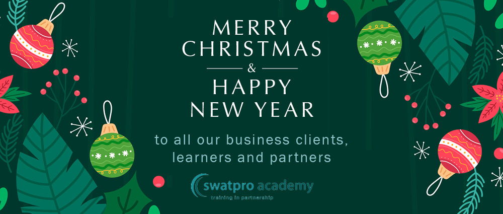 Seasonal best wishes from Swatpro Academy – what a year it has been!